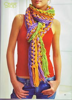 #crochet #knit #braided #macrame #scarf @Katherine Adams Swan Can you make this for me??