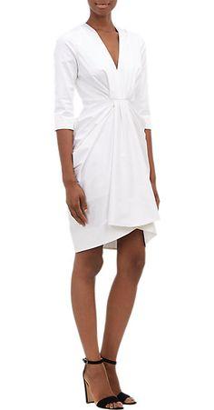 Thakoon Draped V-neck Dress - Short - Barneys.com