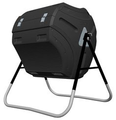 Do you prefer a compost tumbler over having an unsightly open compost heap in your yard? Shop Lifetime today for an 80 gallon composter with tool kit. Compost Bin Tumbler, Best Compost Bin, Kitchen Compost Bin, Composting Bins, Urban Composting, Composting Process, Compost Tea, Kitchen Waste, Vegetable Garden