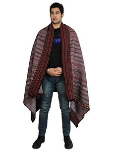 Pure Wool Shawl for Men - Embroidered Indian Clothing Accessory Wrap, 84x36 Inch ShalinIndia http://www.amazon.com/dp/B007HIKEV8/ref=cm_sw_r_pi_dp_ScgXvb0W2STZ2