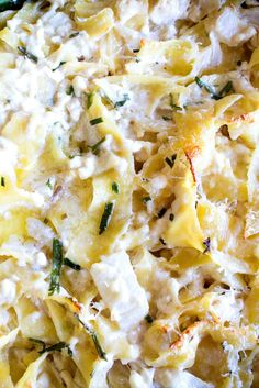 This savory kugel, a Jewish baked noodle pudding, comes from a 1950 spiral-bound cookbook that was compiled by the women of a synagogue in suburban Larchmont, N.Y They called it Exciting Baked Noodles, and it included what were then considered secret ingr Pasta Recipes, Dinner Recipes, Cooking Recipes, Egg Noodle Recipes, Recipes Using Egg Noodles, Pasta Dishes, Food Dishes, Side Dishes, Veggies