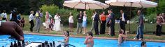 Aperitivo bordo piscina con musica