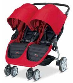 Britax B-Agile Double Stroller for twins