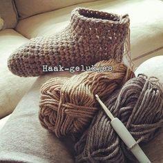 Haak-gelukjes: Warme voeten