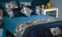 Harvey Norman - Meridian Bed Linen by Bambury