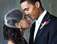 african american weddings | african american bride and groom