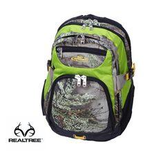 #New Realtree Max-1 Camo 14-in. Green Laptop Backpack  #Realtreecamo
