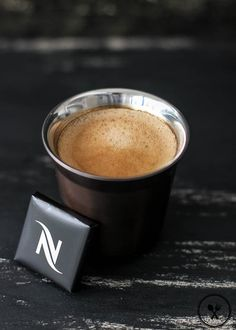 Wholesome Cook Blog: Cioccorosso coffee and Nespresso Dark Chocolate Square (70% Cocoa)