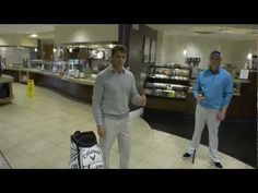 VIDEO: Not exactly sure how high to tee your golf ball? This week's Office Golf Tip comes from the Fairway Cafe here at Callaway HQ, where Gerritt Ponn (who builds clubs for our Tour Pros) gives some quick advice on tee height that'll help your game this weekend.     (Note: We do not encourage you to do this in your kitchen at home)