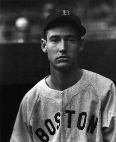 Ted Williams photographed by Charles Conlon