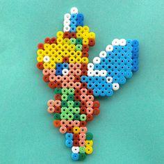 Tinker Bell hama beads by annettetjelle