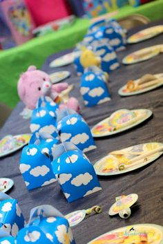 Rainbow Care Bears Birthday Party