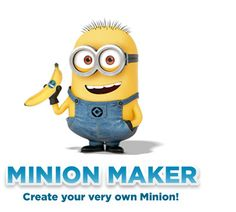 Minion Maker - Create Your Very Own Minion! Pinning this for later