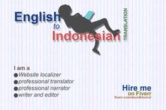 translate English to Indonesian in a concise style by davidkhoirul