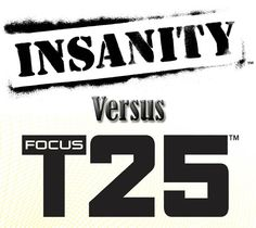 Insanity vs Focus – How These Two Workouts Compare I've personally done both and prefer for it's modified work outs and shorter workout time T25 Workout, Workout Dvds, Insanity Workout, Workout Schedule, Insanity Fitness, Shaun T T25, Shaun T Insanity, Shaun T Workouts, 21 Day Fix Workouts