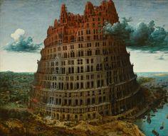Intraducible: (adj.) del latín, 'tradere'... | Imagen: 'La Torre de Babel', de Brueghel