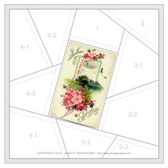 Nostalgic NeedleART: Best Wishes and Greetings Crazy Quilt Block from Vintage Vogue