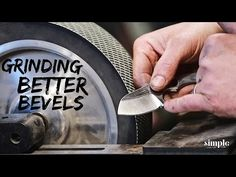 5 Tips for Grinding Better Bevels on Your Knives - Grind like a Pro! Forging Knives, Forging Metal, Tactical Knives, Knife Grinding Jig, Knife Sharpening, Knife Making Tools, Trench Knife, Knife Patterns, Belt Grinder
