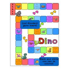 This Dino Themed math game is a great way to practice early addition problems. Students draw a math card, read the number sentence and supply the answer to the equation, roll the die, move, and finish by following any directions on the square they land on. They do it all while having fun with cool dino themed graphics and bright colors. The whole game is designed as a file folder game for easy use, setup, and storage!