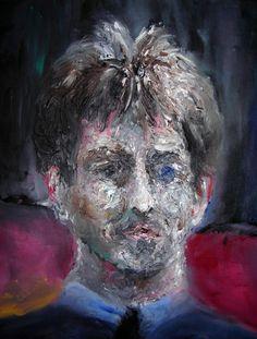 -1- 45x32 cm, 2005 Lion Sculpture, Portraits, Statue, Painting, Art, Art Background, Head Shots, Painting Art, Kunst