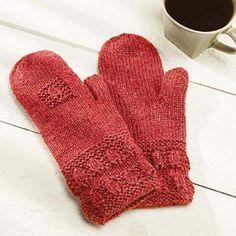 Almond Mittens Knit Pattern
