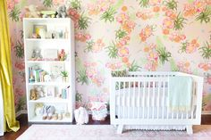 Lulu & Georgia nursery: http://www.stylemepretty.com/living/2016/03/16/10-must-have-baby-items-youre-friends-havent-told-you-about/ | Photography: Monica Wang - http://www.monicawangphotography.com/