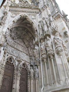 Gothic Church built in the 1300's Regensberg Germany