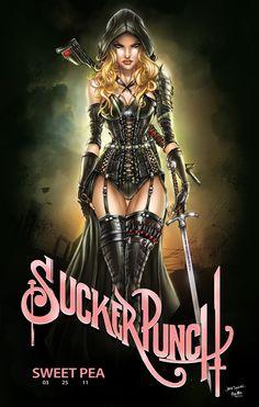 ☆ Sucker Punch: Sweet Pea :¦: Lines Artist: Jamie Tyndall :¦: Colors Artist: Ula Mos ☆