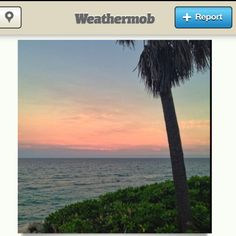 Snow all over Europe and on the weathermob app for iPhone, and this from Fla in the middle. Weather love.