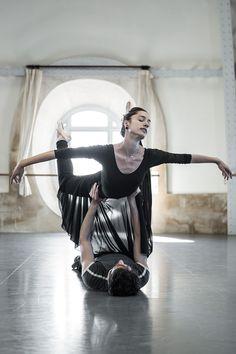 Dorothée Gilbert, Mathieu Ganio Tristan et Isolde rehearsal photo: James Bort