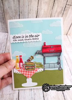Masculine Birthday Cards, Birthday Cards For Men, Handmade Birthday Cards, Masculine Cards, Guy Birthday, Outdoor Barbeque, Barbecue, Stampin Up Christmas, Fathers Day Cards
