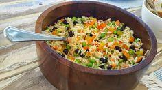 Um arroz que vale uma refeição - Arroz à grega ~ Simples Assim