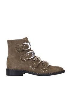 GIVENCHY Suede studded ankle boots. #givenchy #shoes #boots