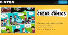 AYUDA PARA MAESTROS: Pixton - Crea y comparte cómics