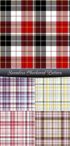 Seamless Checkered Pattern thumb 450x935 3846 thumb 450x935 3847 ファブリック感が得られるチェックのパターン素材(EPS)   Free Style