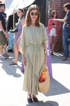 Street-Style Snaps From L.A.'s Chicest Craft Doyennes At The Echo Park Craft Fair #refinery29