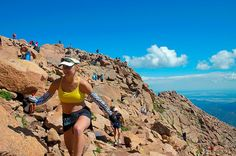 Do the Pikes Peak Ascent & #Marathon in #Colorado Springs, CO. I can only imagine the intensity, I'm game! Let's do it!