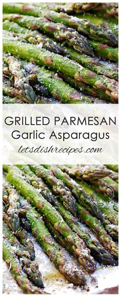 Grilled Parmesan Asparagus Recipe: Fresh asparagus stalks are cooked on the grill . # simple recipes Grilled Parmesan Asparagus Recipe: Fresh asparagus stalks are cooked on the grill . Grilled Vegetable Recipes, Grilled Asparagus Recipes, Parmesan Asparagus, Healthy Grilling Recipes, Parmesan Recipes, Grilled Veggies, Vegetable Dishes, Gourmet Recipes, Asparagus Spears