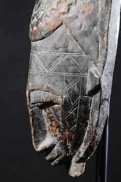 Blade mask Kore - Bambara / Bamana - Mali  En savoir plus sur Masque lame du Kore - Bambara / Bamana - Mali - Objet n°5049 - Galerie Bruno Mignot sur www.bruno-mignot.com - detail