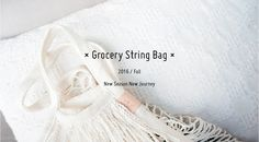 Grocery String Bag | by FEI - jing&fei