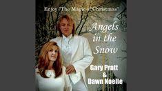 Angels in the Snow Merry Christmas Everyone, Christmas Angels, Snow, Entertaining, Music, Youtube, Musica, Musik, Muziek