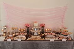 Mercury Glass Wedding Sweet Table by Sweet Table Chicago, http://sweettablechicago.com/project/mercury-glass-wedding-sweet-table/