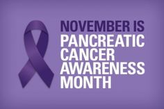 This November marks Pancreatic Cancer Awareness Month. The purple ribbons recognize a particularly deadly form of cancer that has claimed famous faces in recent years, including Apple co-founder Steve Jobs and actor Patrick Swayze. For Donna Jeanne Pugh, MSN, RN, faculty chair at Chamberlain's Jacksonville campus, the cancer hit tragically close to home. Click here to read more: http://blog.chamberlain.edu/2012/11/24/chamberlain-community-rallies-for-pancreatic-cancer-awareness-month/