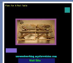 Plans For A Pool Table 200120 - Woodworking Plans and Projects!