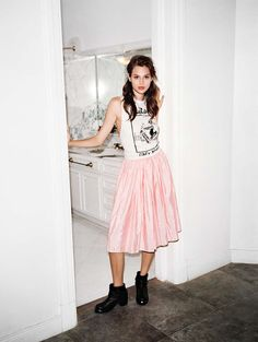 LNA blog oh my god - Anais Pouliot for Urban Outfitters.