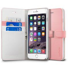 iPhone 6 Plus Case Wallet S.... Lu Olha essa é mais fininha