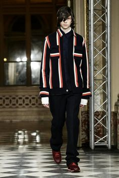 Sacai Menswear Fall Winter 2016 Paris