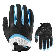 Long Finger Gel Touch Cycling Gloves