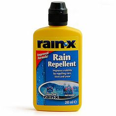 rain-x.  This is a product I've used for years on my glass shower doors and walls.  For those of you who live in a area with hard water.  You will never have hard water spots on your glass, faucets or tile!