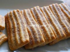 Galletas de canela . receta con y sin termomix